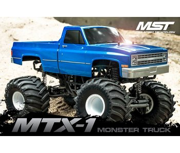 MST MTX-1 4WD Monster Truck RTR - Brushless / C-10 (Chevrolet C10)