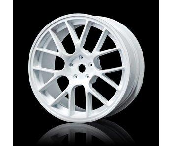 MST RE Wheel 24mm (4) / White