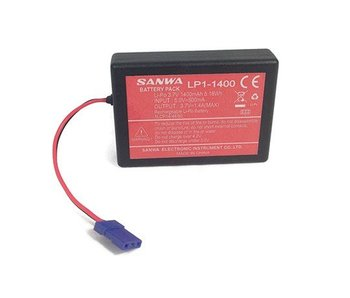 Sanwa Li-Po Battery LP1-1400 3,7V for MT-44