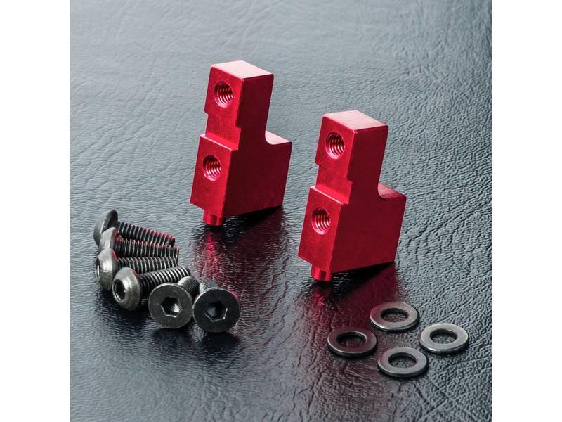 MST Aluminium Servo Mount / Color: Red