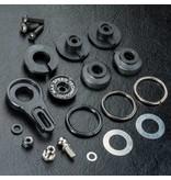 MST Aluminium 8-Adjusting Servo Saver / Color: Black