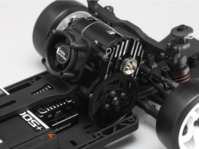 Yokomo Y2-304S - Aluminium Special Motor Mount (cooling fan installable) - Black Edge Design for YD-2S