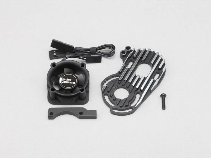 Yokomo Y2-304SF - Aluminium Special Motor Mount (cooling fan included) - Black Edge Design for YD-2S