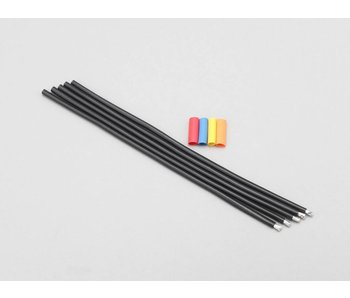 Yokomo Cable / Wire 12 Gauge 100cm - Black