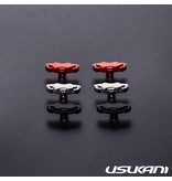 Usukani US88187-GY - Aluminium Brake Calipers Small for PDS/MST (2pcs) - Grey - DISCONTINUED