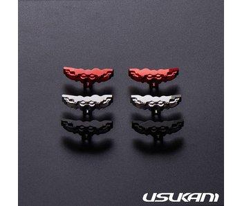 Usukani Aluminium Brake Calipers Large for PDS/MST (2pcs) - Black - DISCONTINUED