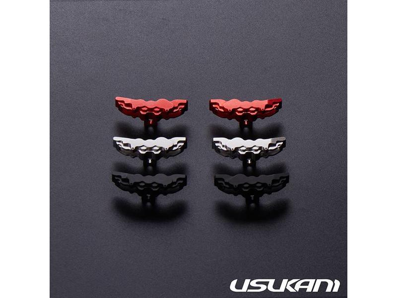 Usukani US88188-BK - Aluminium Brake Calipers Large for PDS/MST (2pcs) - Black - DISCONTINUED