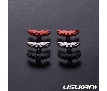 Usukani Aluminium Brake Calipers Large for PDS/MST (2pcs) - Grey