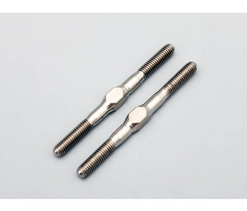 Yokomo Titanium Turnbuckle 39mm (2pcs)