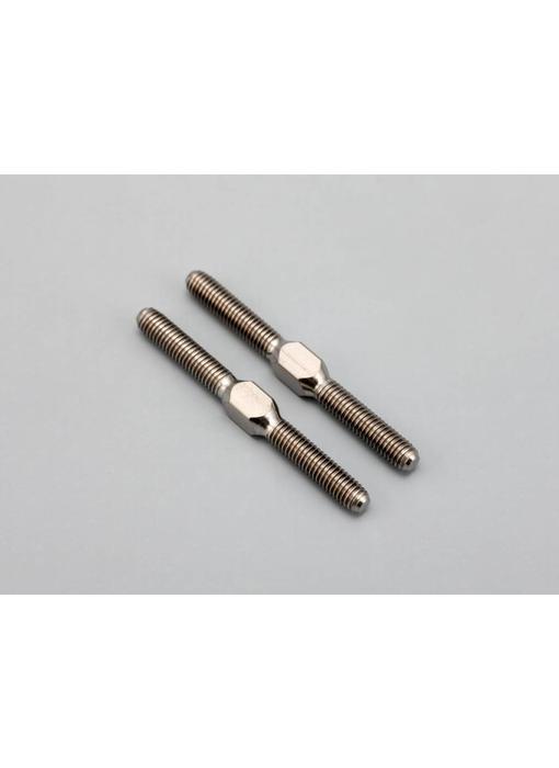 Yokomo Titanium Turnbuckle 33mm (2pcs)