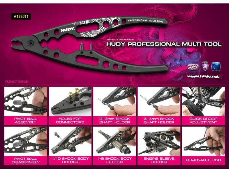Hudy H183011 - Professional Multi Tool