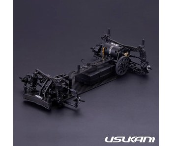 Usukani PDSH (High Motor) 2WD 1/10 Chassis Kit