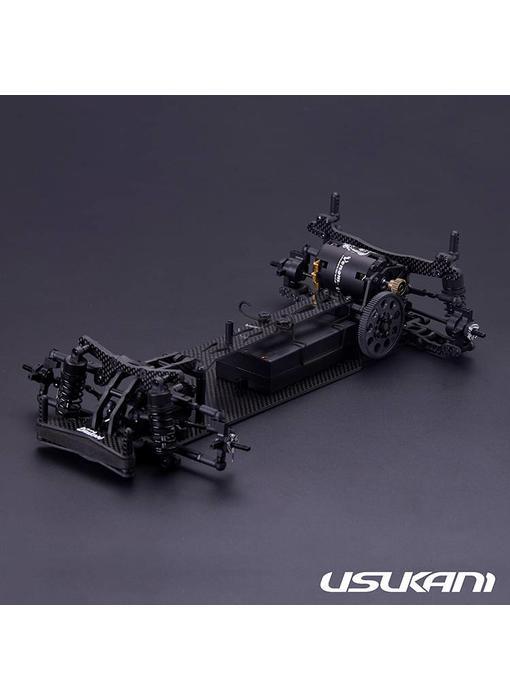 Usukani PDSH (High Motor) 2WD 1/10 Chassis Kit