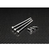 Yokomo RP-090 - Precision Machined Titanium Hex Screw Set for RP Motor (6pcs)