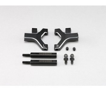 Yokomo Aluminium Front Lower Short A-Arm - Black Edge Design (1 set)