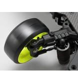 Yokomo RP-6313Y6 - RP High Traction Type Drift Wheel 6mm Offset - Yellow (2pcs)