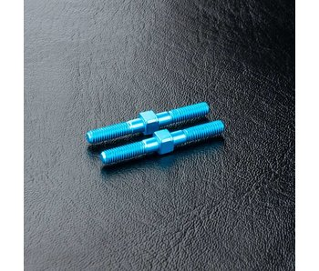 MST Alum. Turnbuckle φ3x28mm (2) / Blue - DISCONTINUED