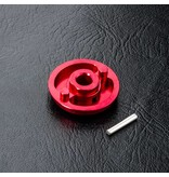 MST Aluminium Spur Gear Holder / Color: Red