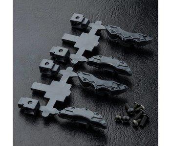 MST Brake Calipers (4) / Black
