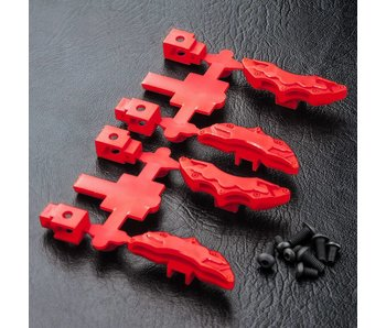 MST Brake Calipers (4) / Red