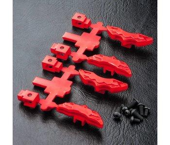 MST Brake Calipers (4) / Red