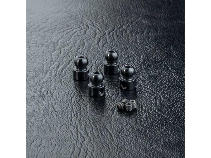MST Aluminium Anti-Roll Bar Ball End φ3.9mm (4pcs)