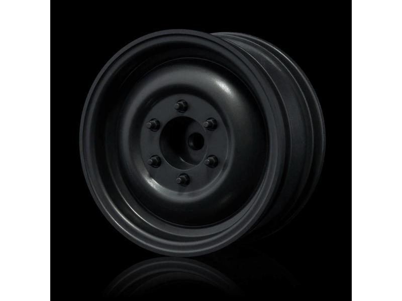 MST 60D Wheel (4pcs) / Color: Flat Black