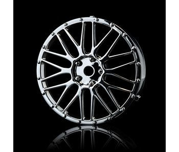 MST LM Wheel Disk (2) / Silver - DISCONTINUED