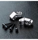 MST ATK Aluminium Adjusting Base (2pcs) / Color: Silver