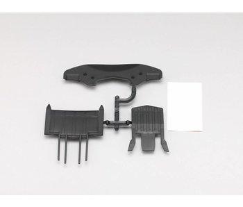 Yokomo Front & Undertray Diffuser Set for YD-2 & YD-4