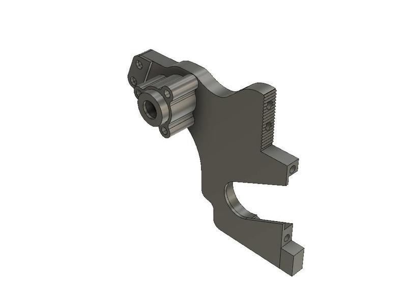 RevolRC RCKUYD210_S11 - Rear Bulk Left for Ultim8 YD-2