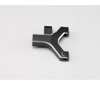 Yokomo Aluminium Front Lower Short A-Arm Left - Black Edge Design (1pc)