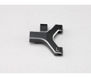 Yokomo Aluminium Front Lower Short A-Arm Left - Black Edge Design (1pc)