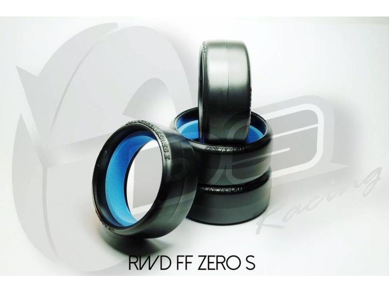 DS Racing RW-008 - Drift Tire Competition Series II RWD-FF-Zero S (4pcs)