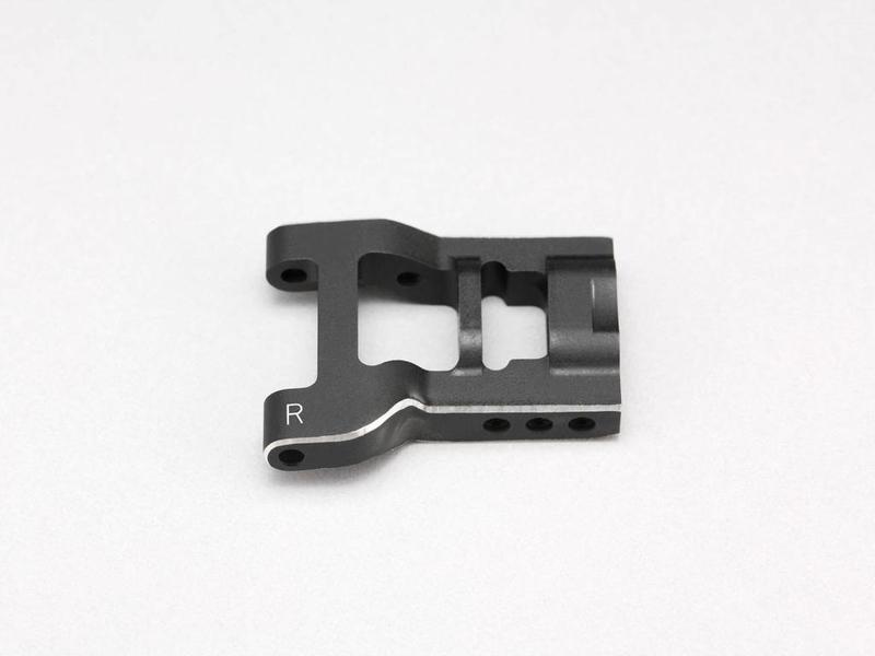 Yokomo Y2-008RS2  - Aluminum Adjustable Rear Short H-Arm Right - Black Edge Design (1pc)