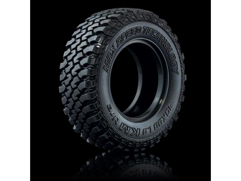 "MST KM Crawler Tire 30x90 - 1.9"" (medium-40°) (2pcs)"