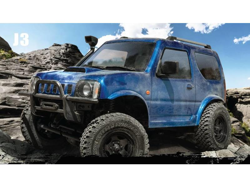 MST CFX 1/10 4WD Off-Road KIT / Body: J3 (Suzuki Jimny)