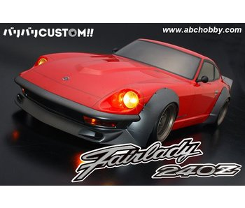ABC Hobby Nissan Fairlady Z (S30 / 240ZG) + Racing Fender Kit