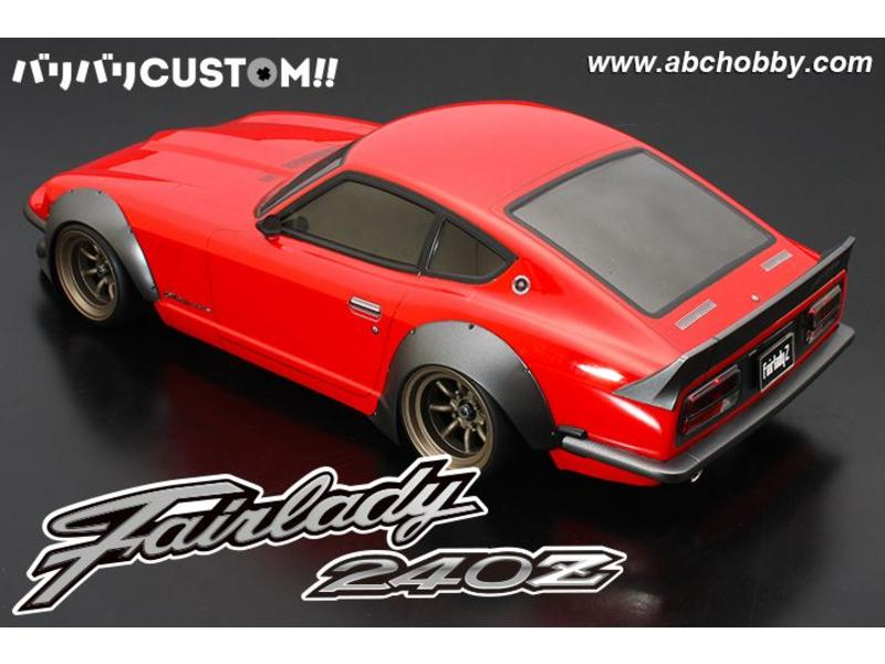 ABC Hobby 66192 - Nissan Fairlady Z (S30 / 240ZG) + Racing Fender Kit