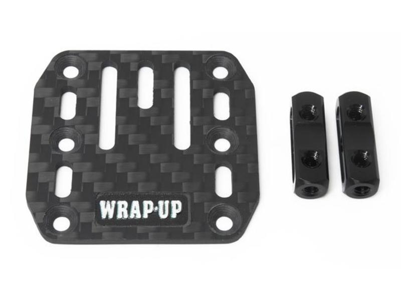 WRAP-UP Next 0400-FD - Carbon ESC Plate & SP Multi Post
