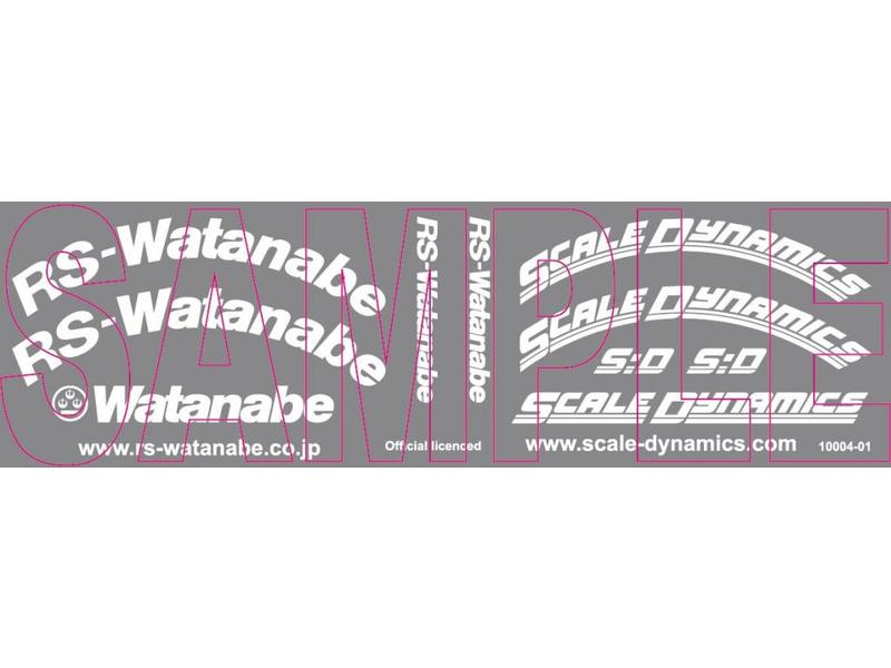 Scale Dynamics 10112 - V16D RS Watanabe - Gold - 12mm Offset (2pcs)
