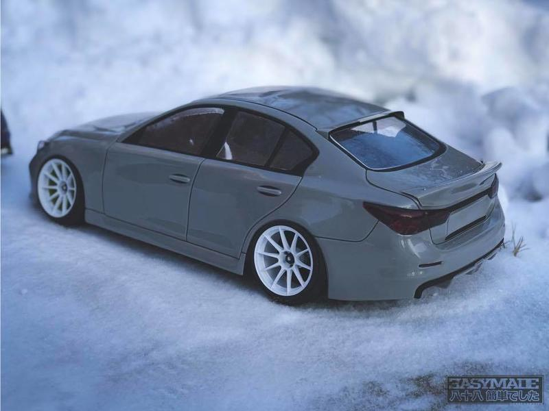 Easymade EMBS-QF - Infiniti Q Fifty (Q50) Clear Body