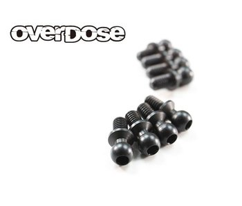 Overdose Ball Stud φ4.3x5mm for Vacula, Divall (8)