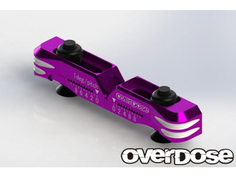 Overdose Adjustable Aluminium Suspension Mount Type-2 for OD / Color: Purple