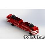 Overdose Adjustable Aluminium Suspension Mount Type-2 for OD / Color: Red
