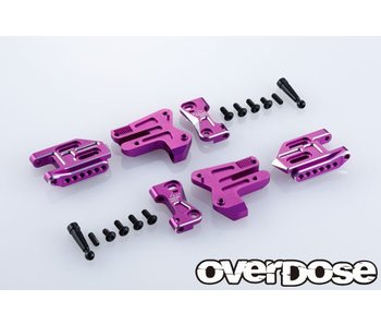 Overdose Adj. Alum. Rear Suspension Arm Type-2 for OD / Purple