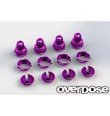 Overdose High Grade Shock Color Change Set for HG Shock Spec.2 / Color: Purple