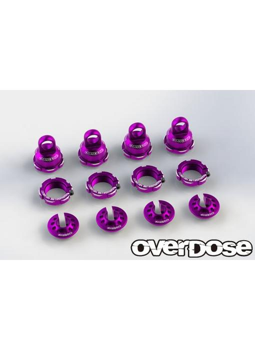 Overdose High Grade Shock Color Change Set for HG Shock Spec.2 / Purple