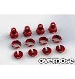 Overdose High Grade Shock Color Change Set for HG Shock Spec.2 / Color: Red
