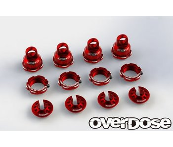 Overdose High Grade Shock Color Change Set for HG Shock Spec.2 / Red